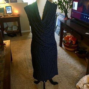 MAX STUDIO Pencil Wiggle Midi Dress